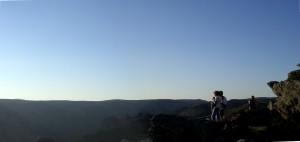 Le rebord Sud du plateau du Caroux