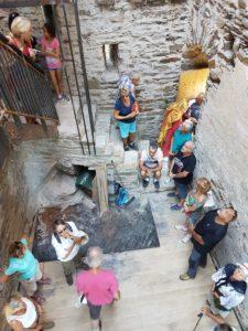 Journée Européenne du Patrimoine - Intérieur Tour Carrée Colombières