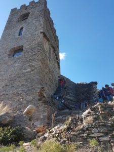 Journée Européenne du Patrimoine - Escalier extérieur Tour Carrée Colombières